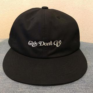 Girls don't cry cap ガールズドントクライ キャップ 黒