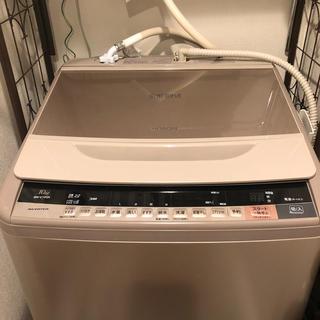 ヒタチ(日立)のHITACHI ビートウォッシュ 10キロ BW-V100A(洗濯機)