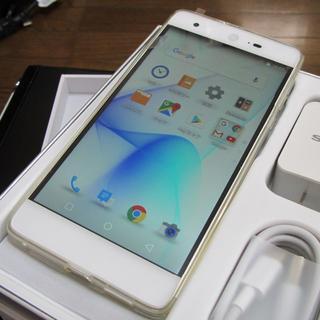シャープ(SHARP)の【新品】SHARP海外モデルスマホ10コア(スマートフォン本体)