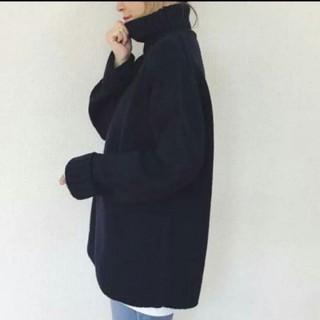 ジーユー(GU)の新品タグ付*完売GU ローゲージタートルネックセーター(ニット/セーター)