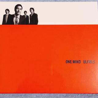 ウルフルズ アルバム ONE MIND ULFULS 初回限定盤