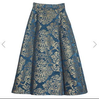 DAMASK DIMENSIONAL SKIRT ameri
