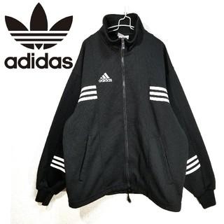 アディダス(adidas)の90s adidas トラックジャケット 刺繍ロゴ パフォーマンスロゴ(ブルゾン)