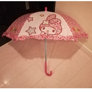 サンリオ(サンリオ)のマイメロディ フリル傘 40cm(傘)