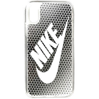 ナイキ(NIKE)のNIKE(ナイキ) グラフィック スウッシュ iPhoneX ケース ブラック(iPhoneケース)