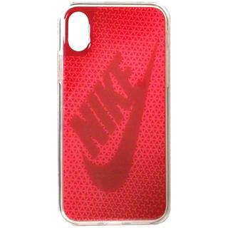 ナイキ(NIKE)のNIKE(ナイキ) グラフィック スウッシュ iPhoneX ケース(iPhoneケース)
