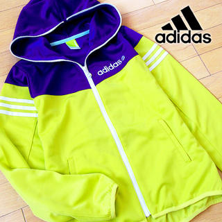 アディダス(adidas)の未使用 Mサイズ アディダス ネオレーベル レディース パーカージャケット(パーカー)