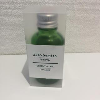 MUJI (無印良品) - 無印良品 エッセンシャルオイル☆ゼラニウム☆