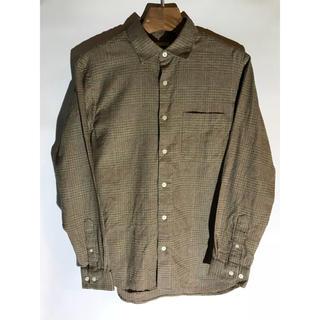 ジーユー(GU)のGU チェックシャツ S サイズ コットン 18年冬物 (シャツ)