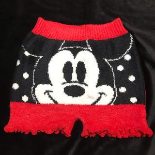 ディズニー(Disney)の新品 腹巻 毛糸のパンツ ディズニー ミッキー  腹巻き ルームウェア 防寒(アンダーシャツ/防寒インナー)