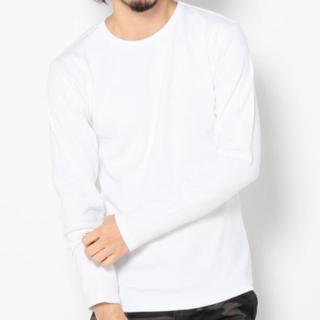 アヴィレックス(AVIREX)の新品アヴィレックスLサイズクルーネックロンティー!(Tシャツ/カットソー(七分/長袖))