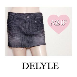 Delyle - DELYLE ▶︎試着のみ♡デニムスカート♡ダチュラ Delyle NOIR