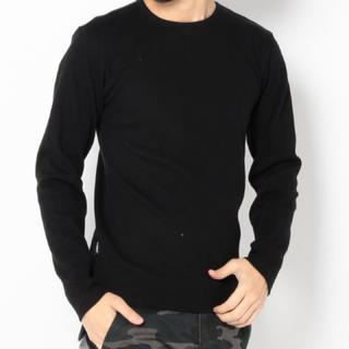 アヴィレックス(AVIREX)の新品アヴィレックスSサイズクルーネックロンティー!(Tシャツ/カットソー(七分/長袖))