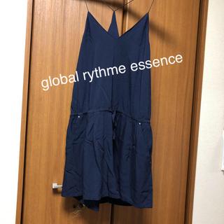 グローバルリズムエッセンス(global rythme essence)のglobal rythme essence ハーフオーバーオール(サロペット/オーバーオール)