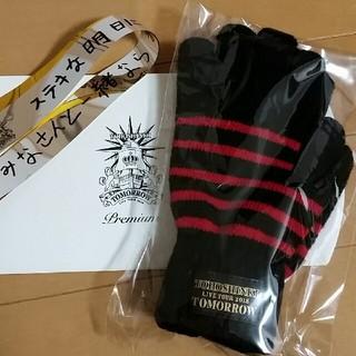 トウホウシンキ(東方神起)の東方神起 スーパープレミアムシート限定 手袋(アイドルグッズ)