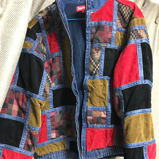 Supreme - supreme denim patch work jacket