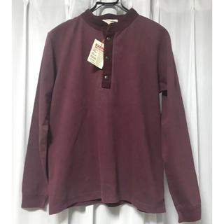 バーンズアウトフィッターズ(Barns OUTFITTERS)の【barns】スナップハイネックシャツ(Tシャツ/カットソー(七分/長袖))