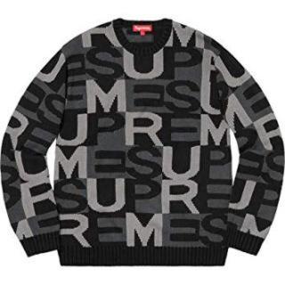シュプリーム(Supreme)のsupreme 18aw Big Letters Sweater XLサイズ(ニット/セーター)