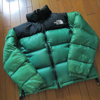 THE NORTH FACE - 激レア the north face ノースフェイス 緑 ヌプシ 正規品