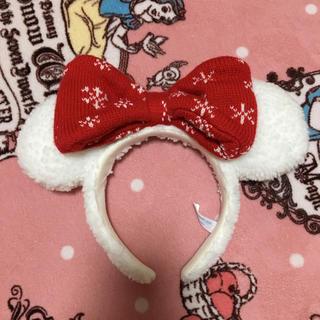 ディズニー クリスマス カチューシャミニー2018