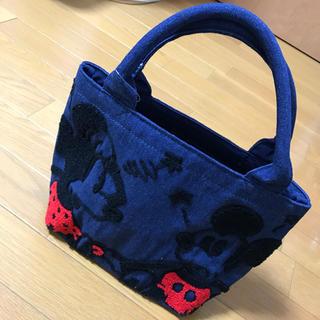シマムラ(しまむら)のミッキー トートバッグ サガラ刺繍(トートバッグ)