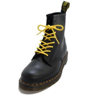 ドクターマーチン(Dr.Martens)のDr.Martens 靴紐 ステッチ 黄色 イエロー 140cm 8ホール(その他)