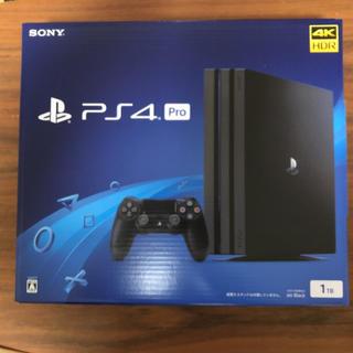 PS4 Pro  1TB CHU-7200BB01 新品未開封