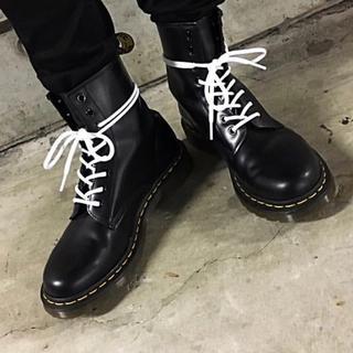 ドクターマーチン(Dr.Martens)のDr.Martens 靴紐 ステッチ ホワイト 白 8ホール 140cm(その他)