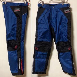 美品❗️Fox Racing モトクロス パンツ ブルー BMX(モトクロス用品)