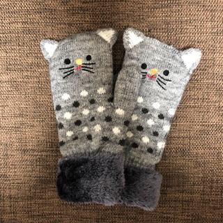 しまむら - 猫 ネコ ねこ 手袋 グローブ 新品