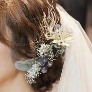 髪飾り  ヘッドアクセ  結婚式  ウェディング