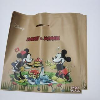 ディズニー(Disney)のミッキー&ミニーのビニール袋 9枚セット(ラッピング/包装)