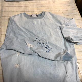 ザラ(ZARA)のZARA MAN デニム生地 長袖(Tシャツ/カットソー(七分/長袖))
