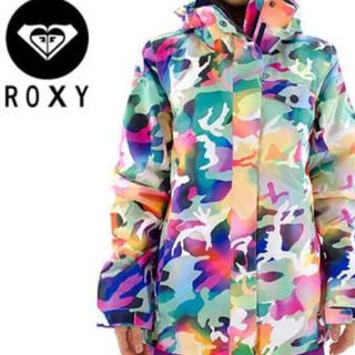 Roxy - ROXY スノボウェア 迷彩 レディース Sサイズ