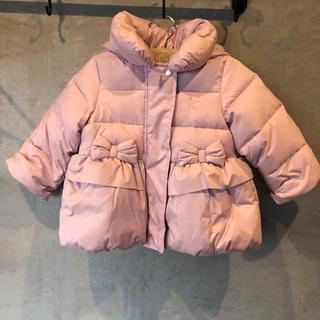 kumikyoku(組曲) - 新品 組曲 ダウン 女の子 ピンク 可愛い コート