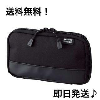 コンパクトペンケース  ブラック 黒 おしゃれ 便利 大流行 入学 入社に! (ペンケース/筆箱)