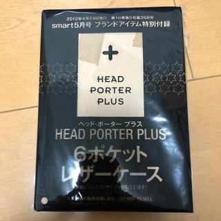 ヘッドポータープラス(HEAD PORTER +PLUS)のHEAD PORTER PLUS  6ポケットレザーケース(名刺入れ/定期入れ)