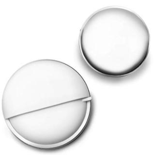 【新品】ピルケース  ステンレス製  ホワイト