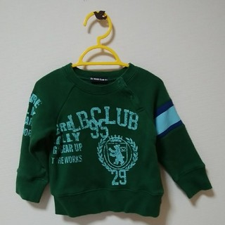 リトルベアークラブ(LITTLE BEAR CLUB)の90㎝ リトルベアークラブ トレーナー(Tシャツ/カットソー)