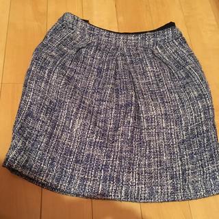 ヴィス(ViS)のビス vis ツイード スカート サイズ S(ひざ丈スカート)