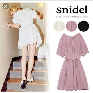 snidel - スナイデル フレアワンピース