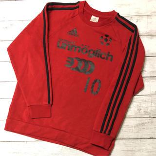 アディダス(adidas)のアディダス トレーナー 160 裏起毛(Tシャツ/カットソー)
