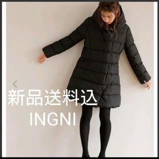イング(INGNI)の新品送料込 INGNI フード付きコート  定価12,744円(ロングコート)