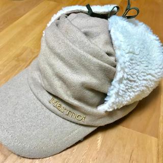 MARMOT - 新品*Marmot四角友里コラボ*トラックウォームキャップ イヤーマフ耳あて帽子
