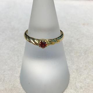 リングK18ルビー(リング(指輪))