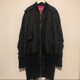 ヴィヴィアンウエストウッド(Vivienne Westwood)のスクイグル ボマージャケット(フライトジャケット)