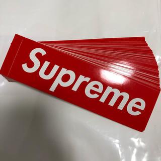 シュプリーム(Supreme)の送料込み Supreme 赤ボックス ステッカー 100枚セット(その他)