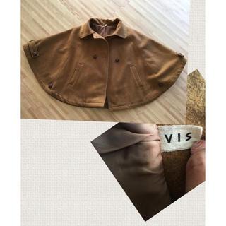 ヴィス(ViS)の【SALE】VIS☆キャメルポンチョ(ポンチョ)