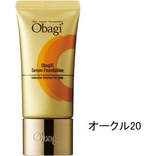 オバジ(Obagi)の【新品未使用】ロート製薬 オバジC セラムファンデーション #オークル20(ファンデーション)