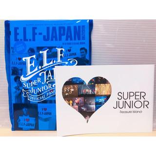 スーパージュニア(SUPER JUNIOR)のSuper Junior E.L.F会報とDVD💿(K-POP/アジア)